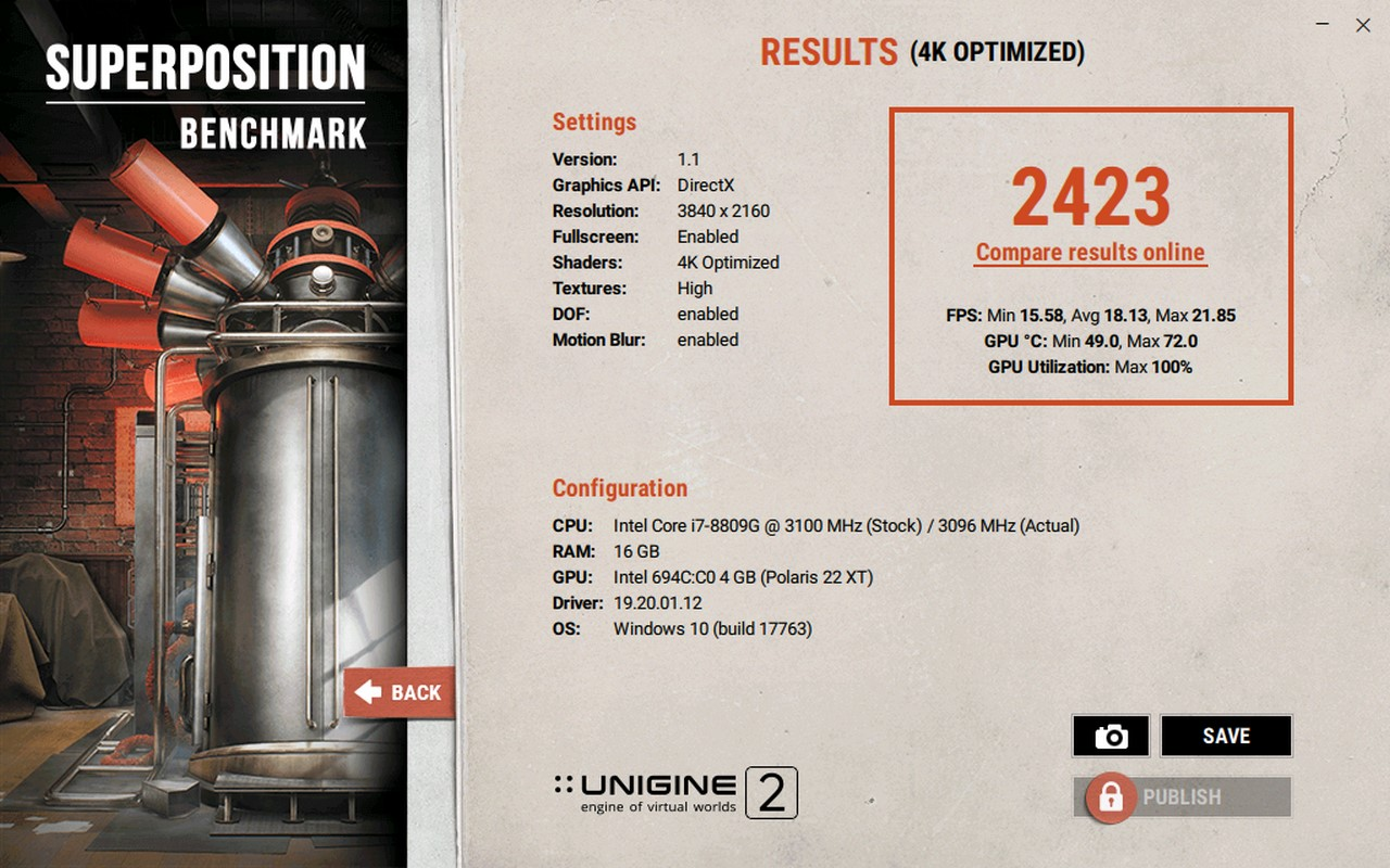 Superposition Benchmark 测试