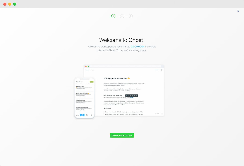 Ghost 博客配置 - 第一步